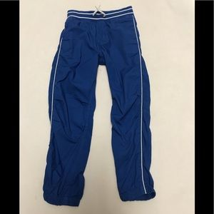 H&M boys blue casual pants size 6-7 years